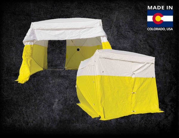 Graphic of the Dual-Entry Series Tent