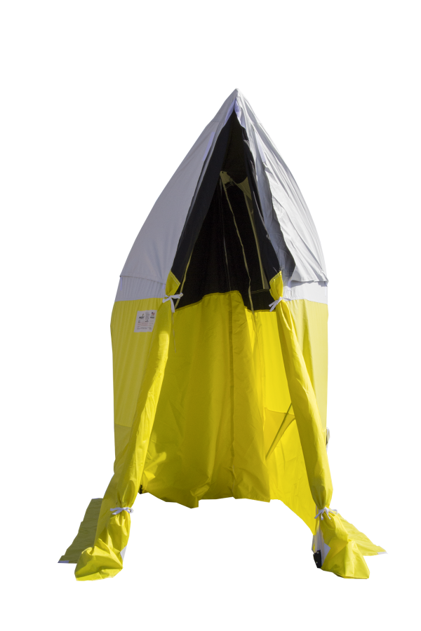 Image of an All-Weather Fiber to the Home Tent