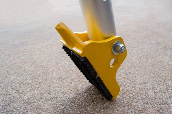 Image showing an angled tripod foot
