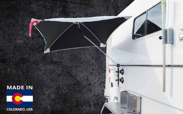 A graphic showing the SolarShade™ Umbrella Series